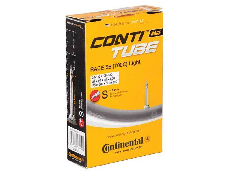 Continental Inner Tube Race Light 700 x 18/25c Presta Valve