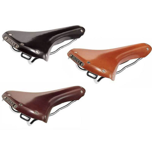 Brooks B15 Swallow Chrome Rails Saddle + Brooks Saddle Cover