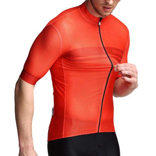 Bike 3Sixty Short Sleeve Cycling Jersey Super Cool Red