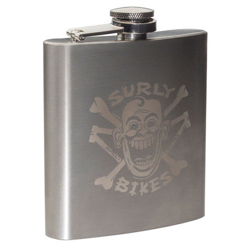 Surly Hip Flask Stainless Steel