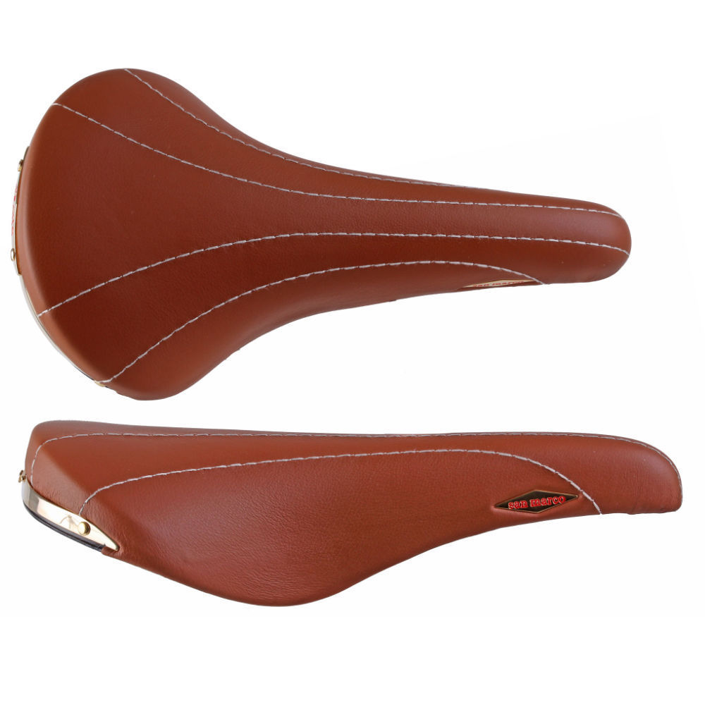 Selle San Marco Rolls Leather Saddle Honey