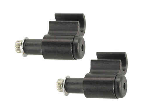 Problem Solvers Hydraulic Brake Guides Black 2 Pcs