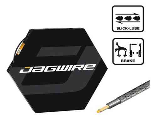 Jagwire Brake Cable Housing 5mm w/ L3 Slick Lube Liner Black