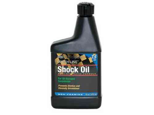 Finish Line Semi Synthetic Shock Oil 473ml Bottle