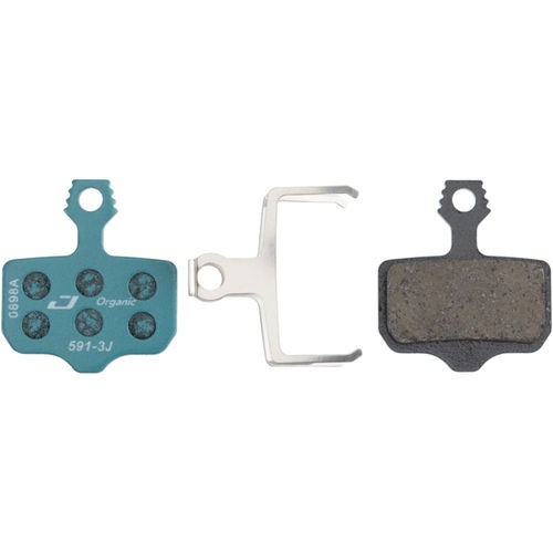 SRAM Level TL, T, DB5, DB3, DB1, Avid, Elixir R, CR Organic Disc Brake Pads  by Jagwire