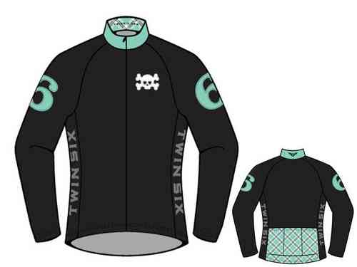"Twin Six ""The Shool Girl "" Women's Long Sleeve Cycling Jersey"