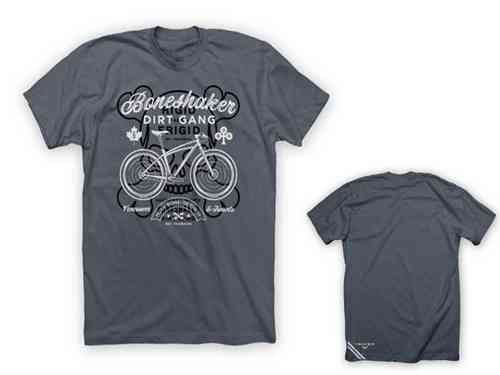"Twin Six ""Boneshaker"" Tee Shirt Grey"