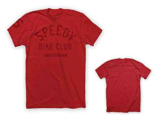 Twin Six Speedy Amsterdam Tee Shirt Red