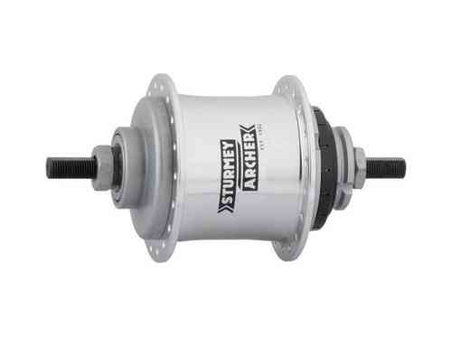 Sturmey-Archer 2-Speed Kick-Shift Hub Kit 32h 110mm Silver