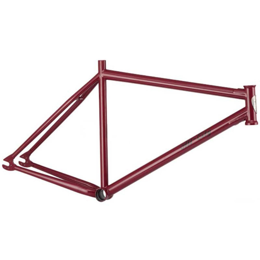 "All-City Airwolf 26"" Singlespeed Frame Red"