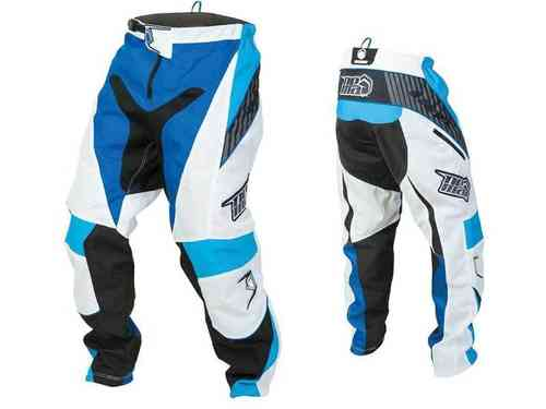 Nema Podium Race Pants White/Blue Black