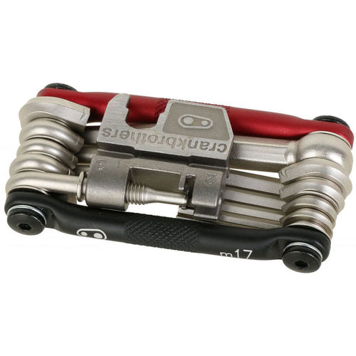 Crankbrothers Multi M17 Tool Black/Red
