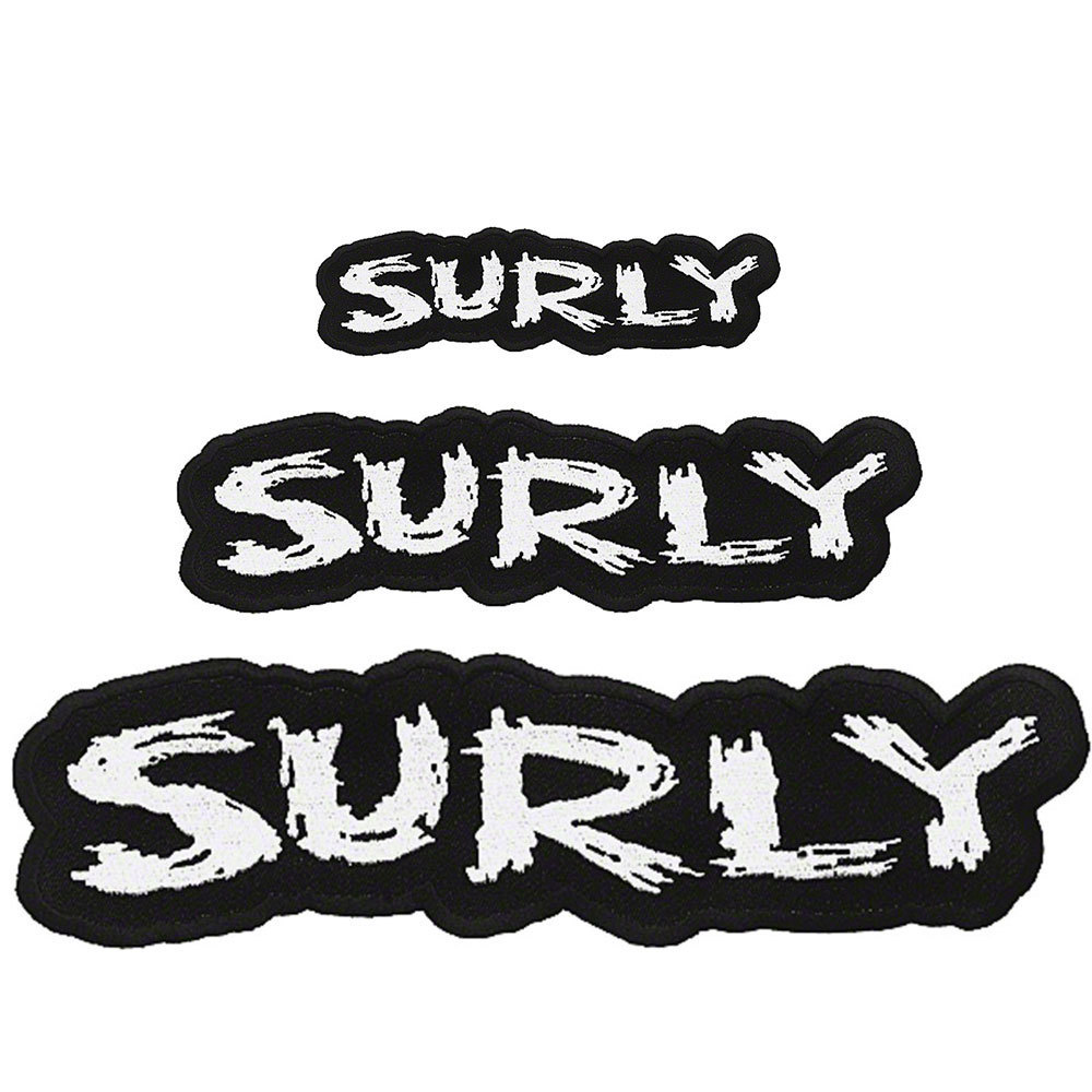 Surly Iron-On Fabric Patch