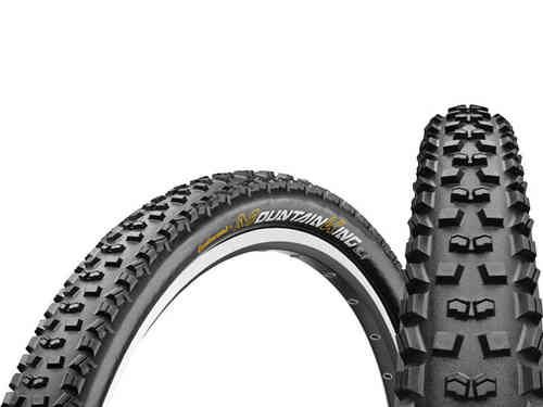 "Continental Mountain King II 26 x 2.2"" UST Foldable Tire"