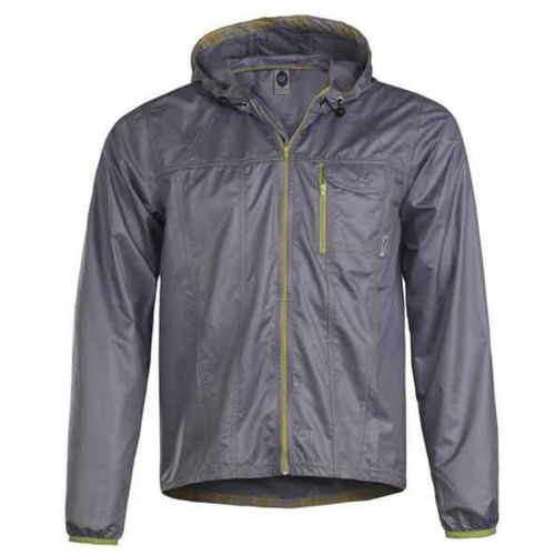 Club Ride Cross Wind Rain Jacket Chrome