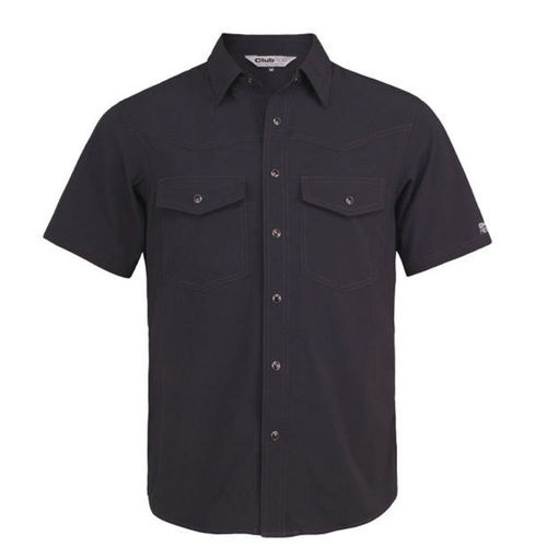 Club Ride Go West Short Sleeve Bike Shirt Black