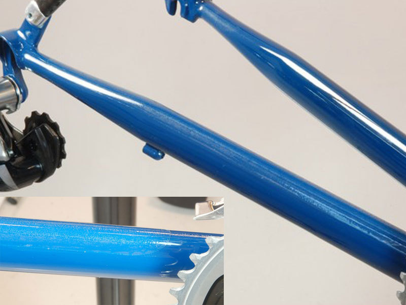 NEW Wheels Manufacturing Wide Chainstay Protector with Alcohol Prep Pad