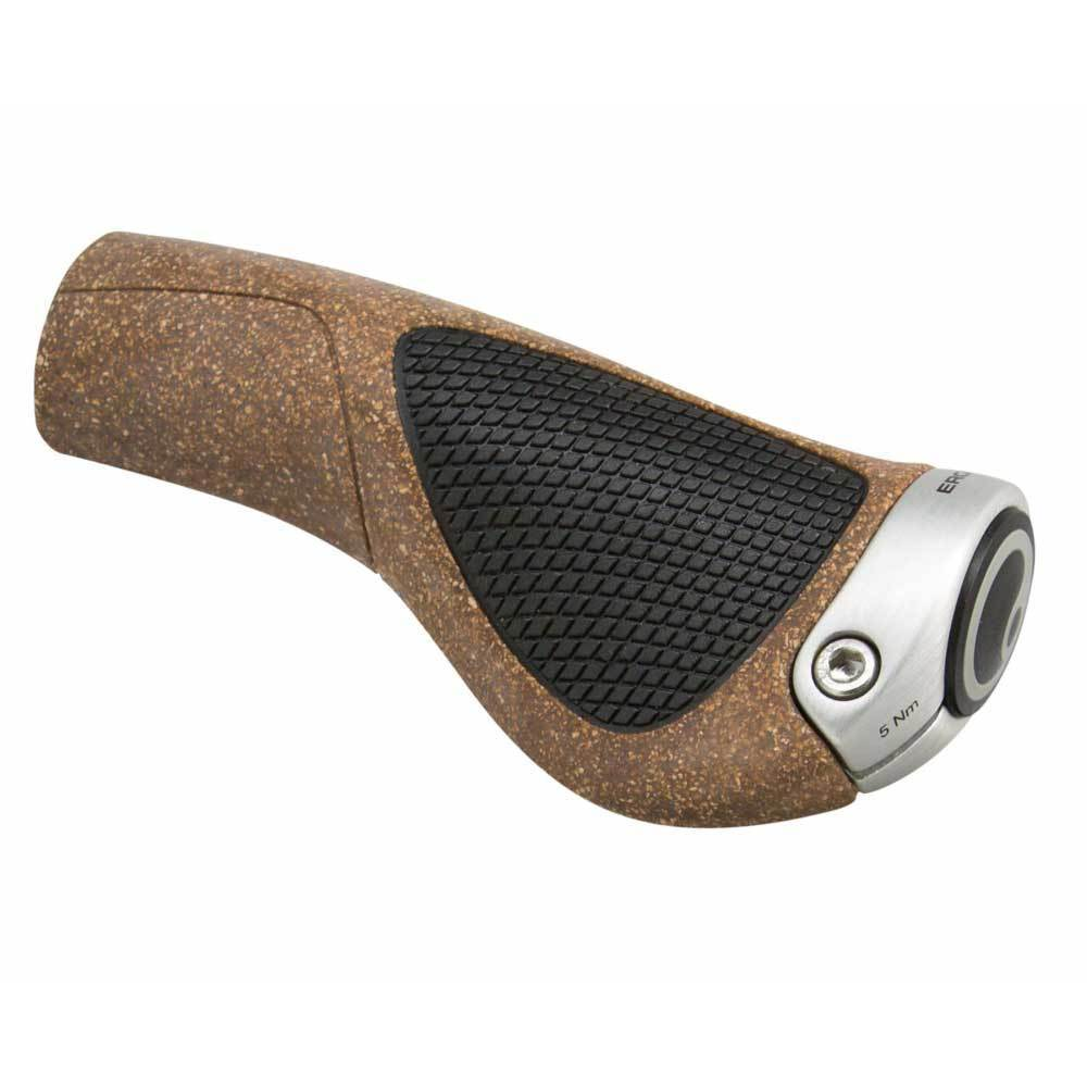 Ergon GP1 BioKork Grips Black/Tan
