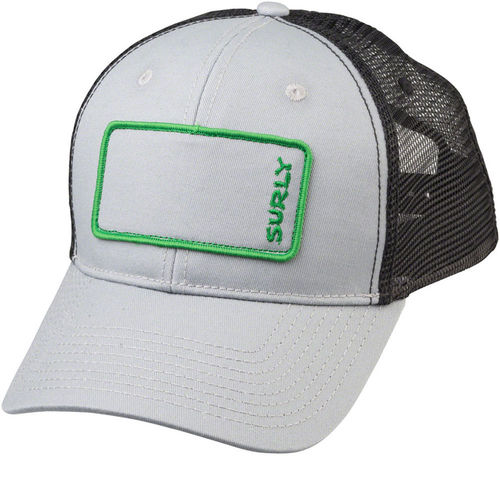 Surly Name Patch Trucker Hat Grey/Green