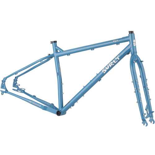 "Surly Ogre 29"" Frameset Cold Slate Blue - coming March 2021"