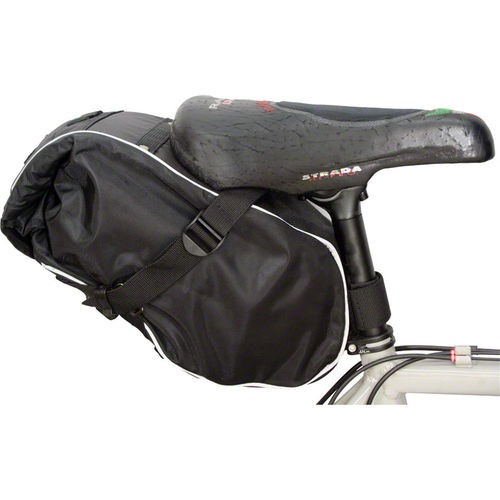 Banjo Brothers Waterproof Saddle Trunk Bag Black