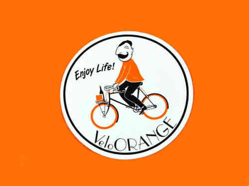 Velo Orange Enjoy Life Sticker