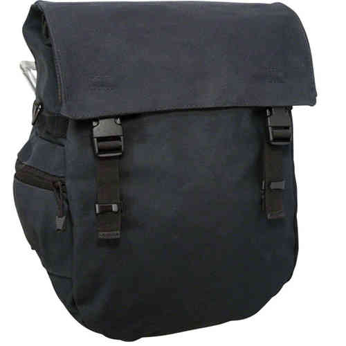 Banjo Brothers Minnehaha Waterproof Canvas Pannier Black
