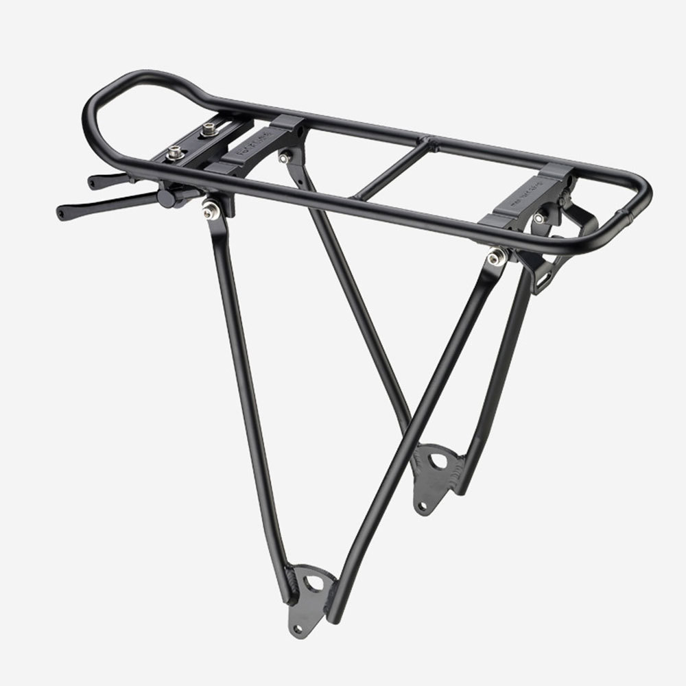 Extension mount for rear wheel luggage rack Tubus cycling