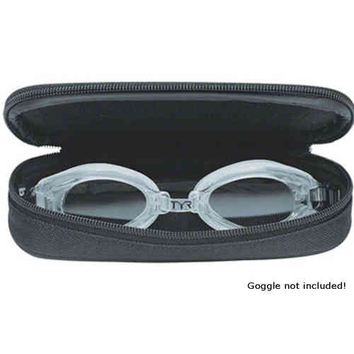 TYR Swim Goggle Case Black