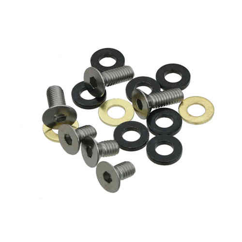 E Thirteen Chainguide Bolt Kit - 10mm/16mm flat-head Bolts/Spacers