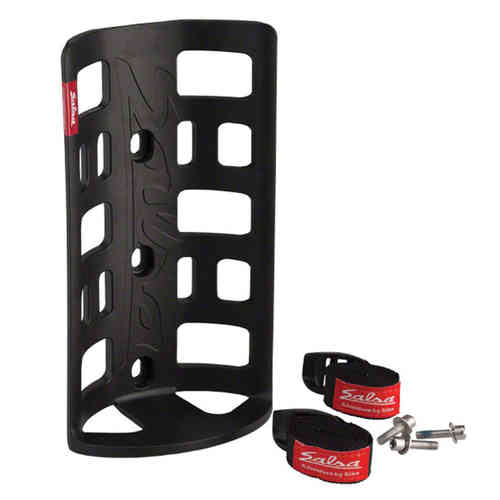 Salsa Anything Cage HD with Salsa Straps Black