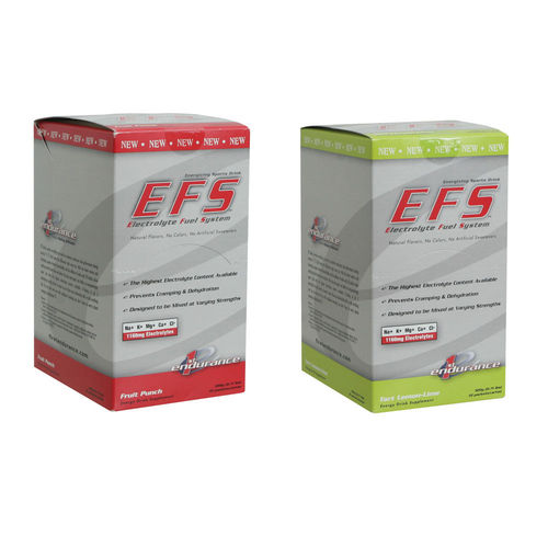1st Endurance EFS Drink Mix Box of 10 Single Serve Packet