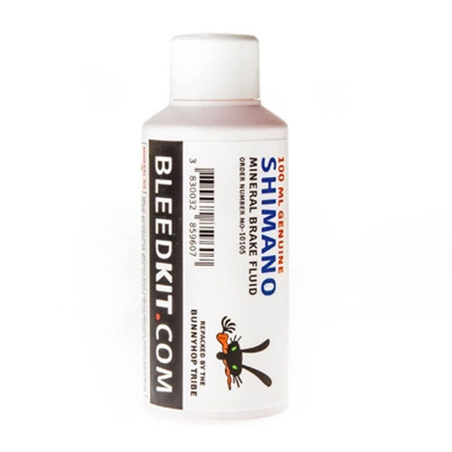 BunnyHop Tripe Mineral Brake Fluid Shimano Red 100ml