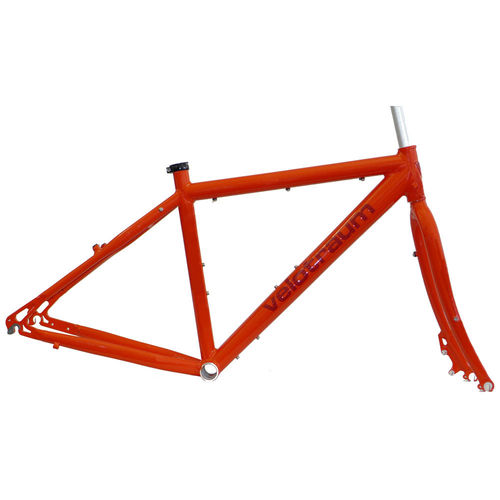 Velotraum VT100 Cross 7005 Frameset Blood Orange Small