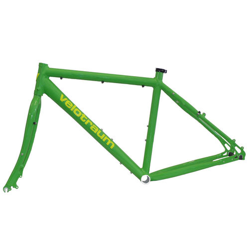 Velotraum VT100 Cross 7005 Frameset Yellow Green Medium