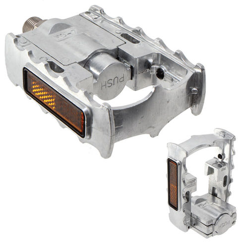 MKS FD-7 Folding Pedals Silver
