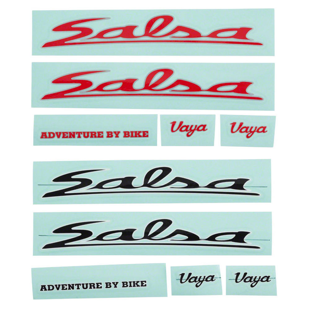 Salsa Vaya Decal Set