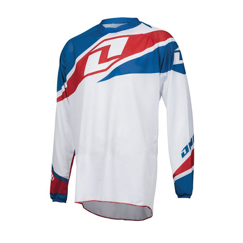 One Industries Atom Vented Jersey White
