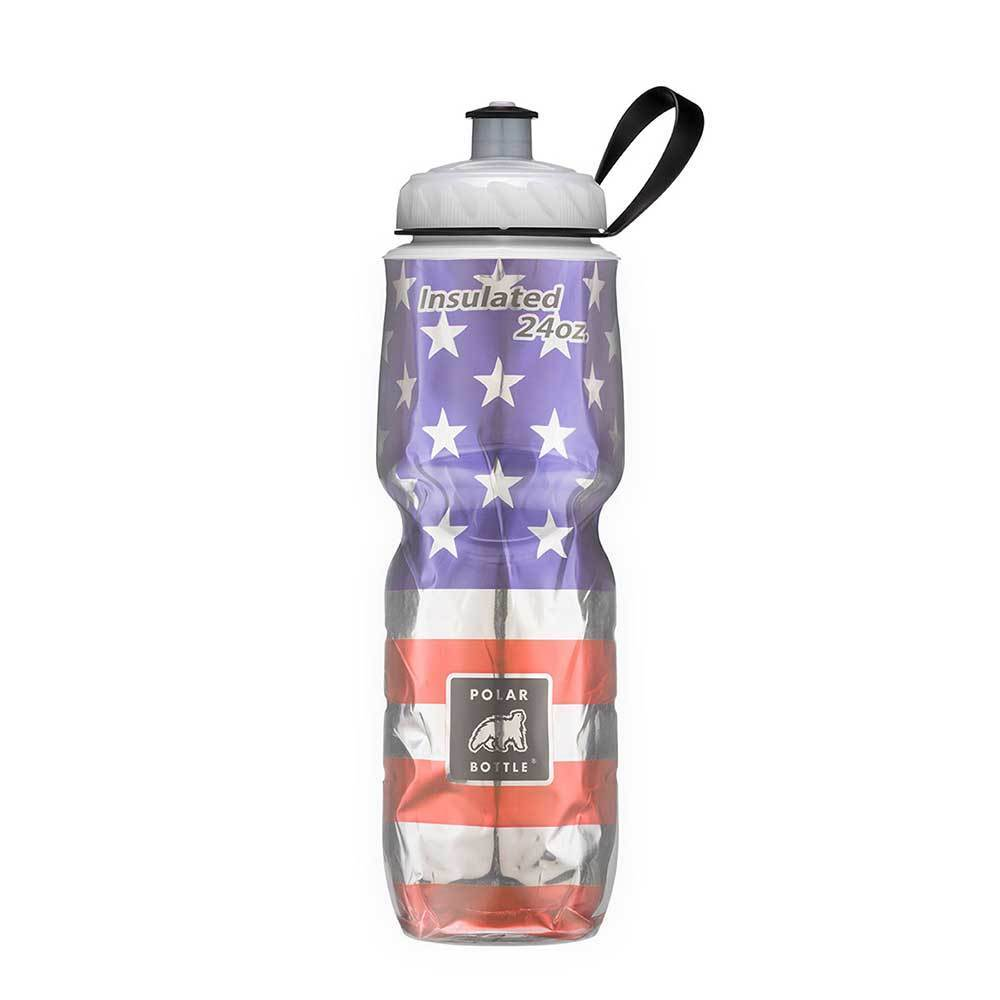 Polar Insulated Water Bottle 700ml Stars and Stripes