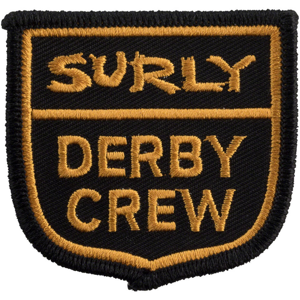 Surly Derby Crew Patch Yellow/Black
