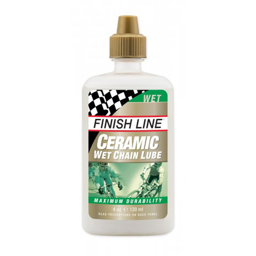 Finish Line Ceramic Wet Lube 120ml Drip Bottle