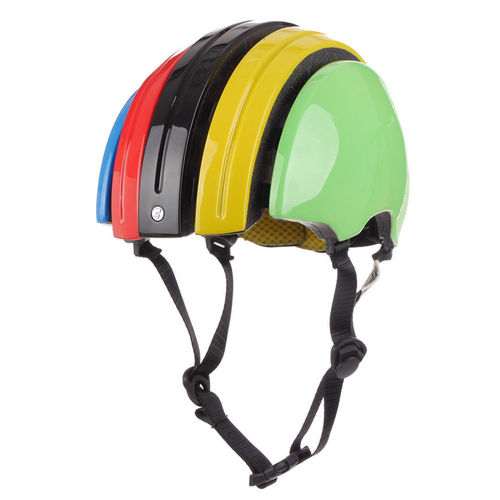 Carrera Foldable Helmet GTE IRIDE Flag