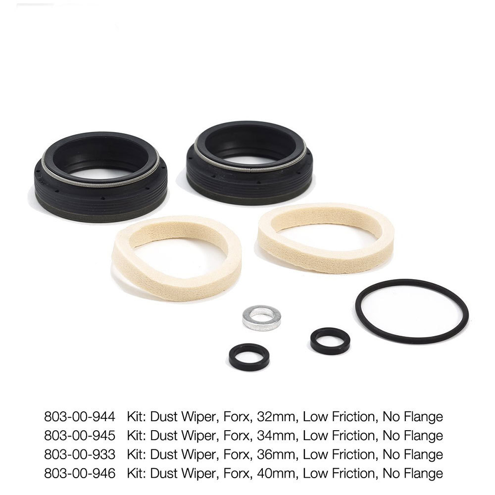 FOX Racing Shox Low Friction Dust Wiper/Seal Kit  - No Flange 2019