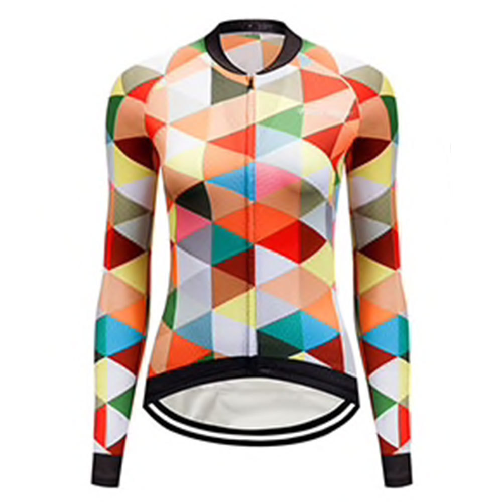 Bike 3Sixty Women's Long Sleeve Cycling Jersey