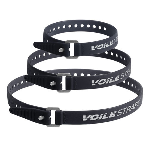 Voile Polyurethane Straps with Aluminum Buckle