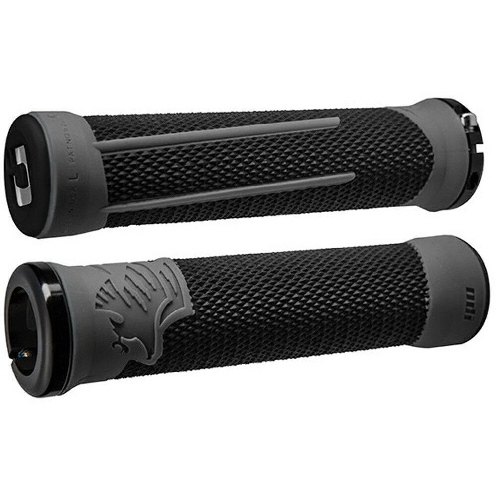ODI Aaron Gwin AG-2 Lock-On Grips Black