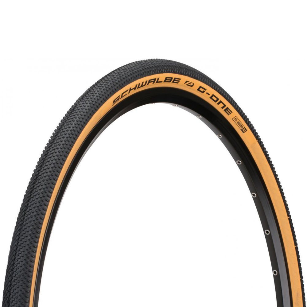 Schwalbe G-One Allround Tire 700c Tubeless Black/Tan