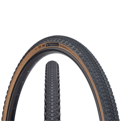 Teravail Cannonball 650 x 40 Light and Supple Tubeless Tire Tan Wall