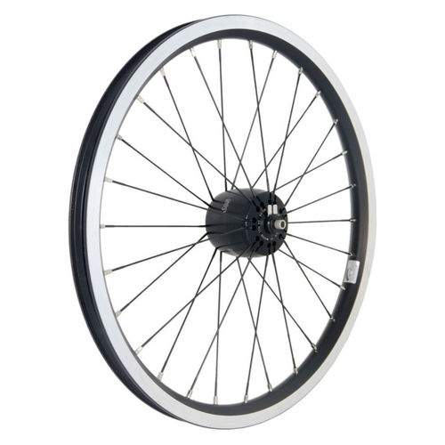 Brompton Front Wheel with SON XS Hub Dynamo 8x74mm 28H - Special Order