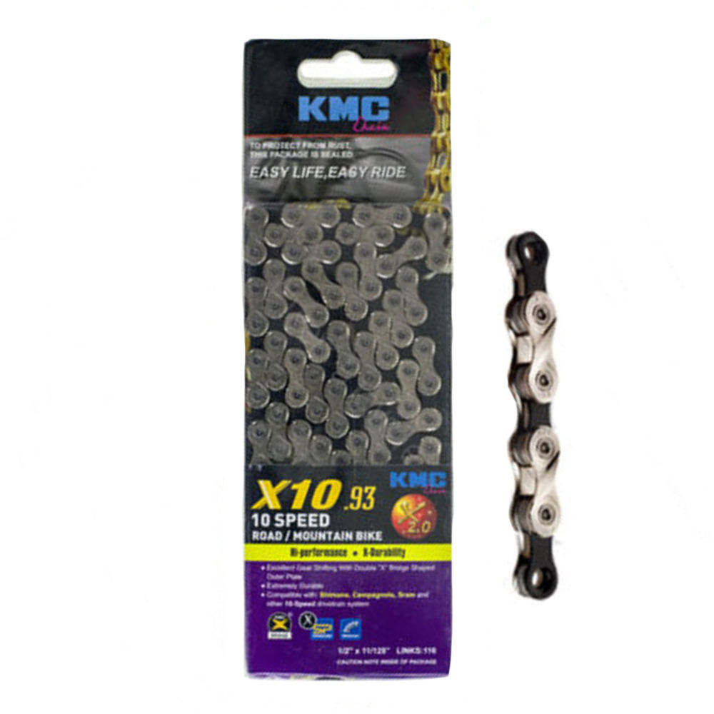 KMC X10.93 10-Speed Chain Silver/Black